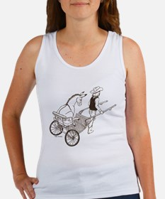 Donkey Cart Women's Tank Top