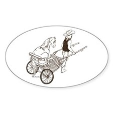 Mini In Cart Oval Decal