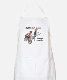 Mini Isn't Spoiled BBQ Apron