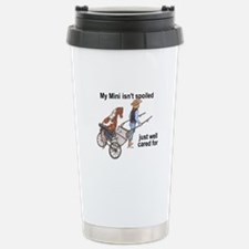 Mini Isn't Spoiled Stainless Steel Travel Mug