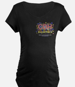 CDH Superhero Stars Logo for Girls T-Shirt