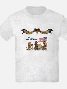 Happy 4th of July Patriotic - T-Shirt