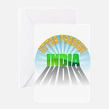 Uttar Pradesh Greeting Card