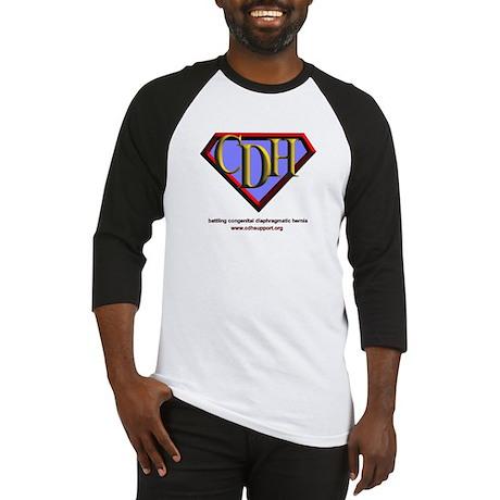 CDH Superhero Logo for Boys Baseball Jersey