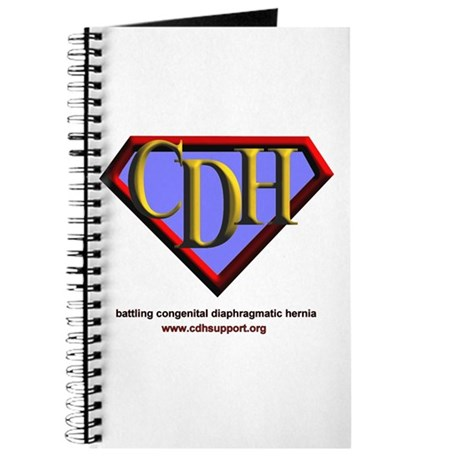 CDH Superhero Logo for Boys Journal
