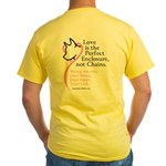 Enclose me with Love Yellow T-Shirt