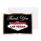 Las vegas Greeting Cards (10 Pack)