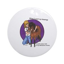 Bay blessings Ornament (Round)