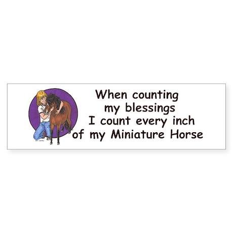 Bay blessings Bumper Sticker