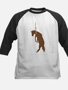 Hung like a horse Kids Baseball Jersey