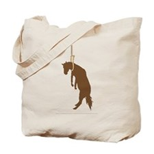 Hung like a horse Tote Bag