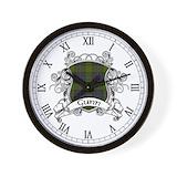 Gunn clan Wall Clocks