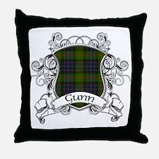 Gunn Tartan Shield Throw Pillow