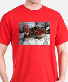Santa Mini Sleigh T-Shirt
