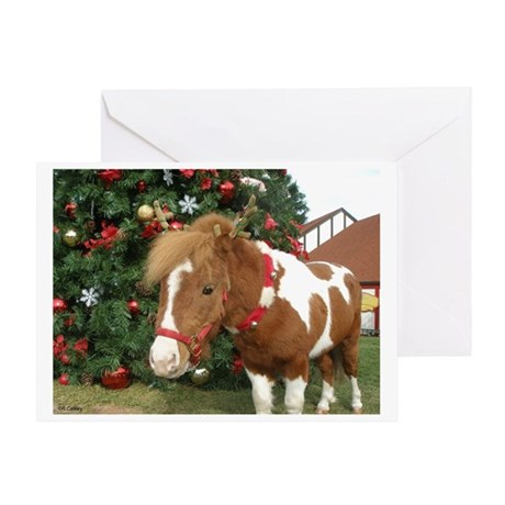 Mini Reinhorse Greeting Card