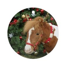 Mini Reinhorse Ornament (Round)