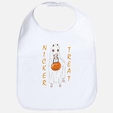 Nicker Treat Orange Bib
