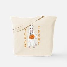 Nicker Treat Orange Tote Bag