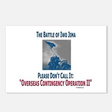 """""""WWII Not OCOII"""" Postcards (Package of 8)"""