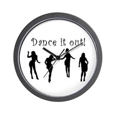 Dance It Out! Wall Clock