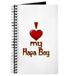 I heart my Hapa Boy Journal