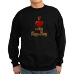 I heart my Hapa Boy Sweatshirt (dark)