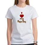 I heart my Hapa Boy Women's T-Shirt
