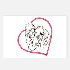 Heartline Mini Love Postcards (Package of 8)