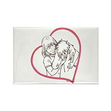 Heartline Mini Love Rectangle Magnet
