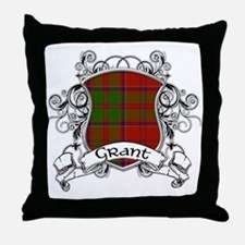 Grant Tartan Shield Throw Pillow