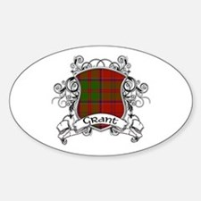 Grant Tartan Shield Decal