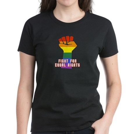 Fight for Equal Rights Women's Dark T-Shirt