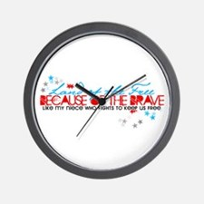 Land of the free: Niece Wall Clock