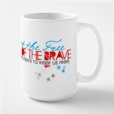 Land of the free: Niece Large Mug
