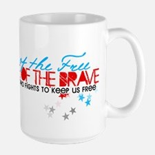 Land of the free: Niece Mug