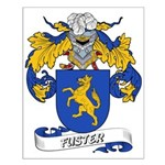 Fuster Coat of Arms Small Poster