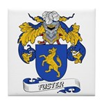 Fuster Coat of Arms Tile Coaster