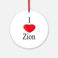Zion Ornament (Round)
