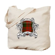 Graham Tartan Shield Tote Bag