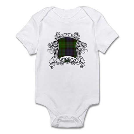 Gordon Tartan Shield Infant Bodysuit