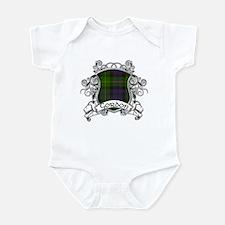 Gordon Tartan Shield Infant Bodysuit