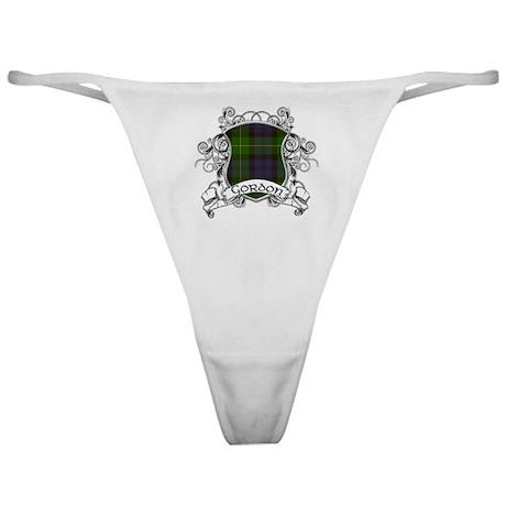 Gordon Tartan Shield Classic Thong