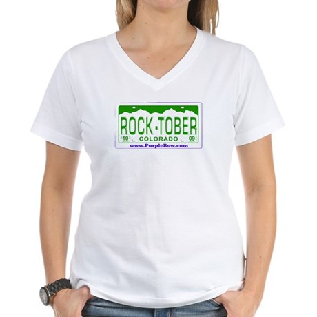 For Charity Women's V-Neck T-Shirt