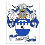 Gabriel Coat of Arms Small Poster