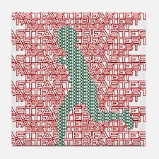 XC Runner Tile Coaster