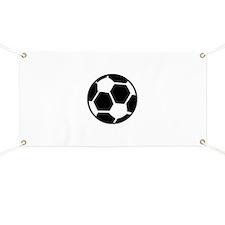 soccer ball icon Banner
