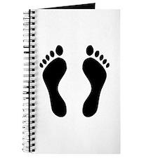footprints barefoot Journal