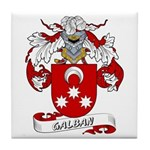 Galban Coat of Arms Tile Coaster