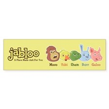 Jabloo Crew Bumper Bumper Sticker