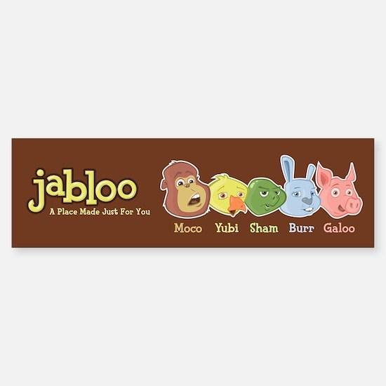 Jabloo Crew Bumper Bumper Bumper Sticker